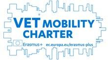 VET Mobility Charter er et kvalitetsstempel for samarbeid innen Erasmus+-programmet. - Klikk for stort bilde